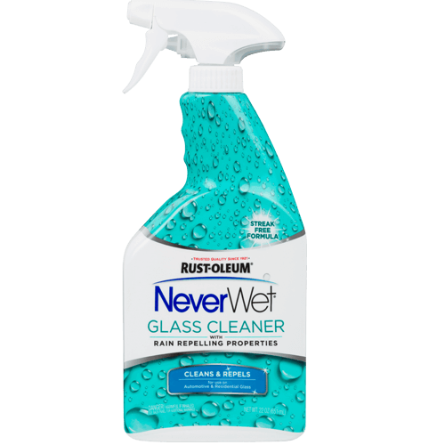 NEVERWET GLASS CLEANER
