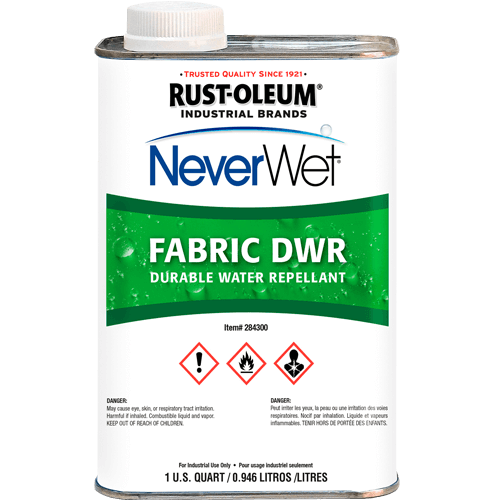 NEVERWET FABRIC DWR